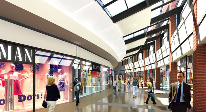 projekt centrum handlowego