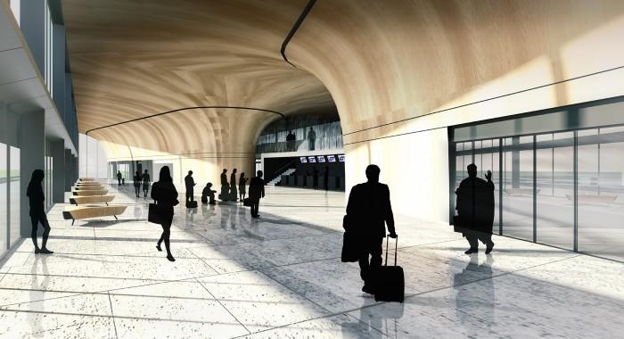 wnętrze lotniska