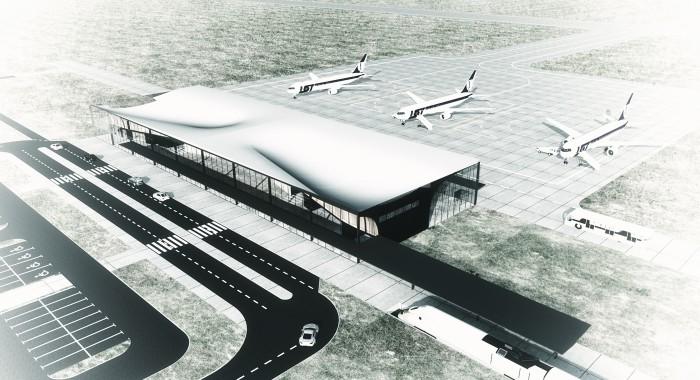 zagospodarowanie lotniska