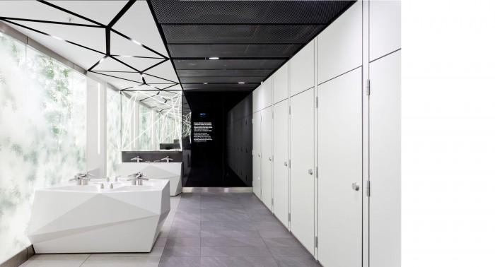 futuristic toilet